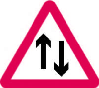 2 Way Traffic Straight Ahead